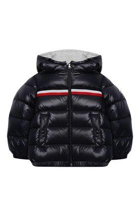 Детского комплект из куртки и комбинезона MONCLER темно-синего цвета, арт. F2-951-1F501-20-68950 | Фото 2