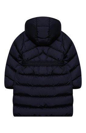 Детское пуховое пальто MONCLER темно-синего цвета, арт. F2-954-1C509-10-C0068/4-6A | Фото 2