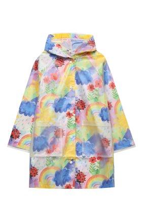Детский дождевик STELLA MCCARTNEY разноцветного цвета, арт. 601264/SPK92 | Фото 1