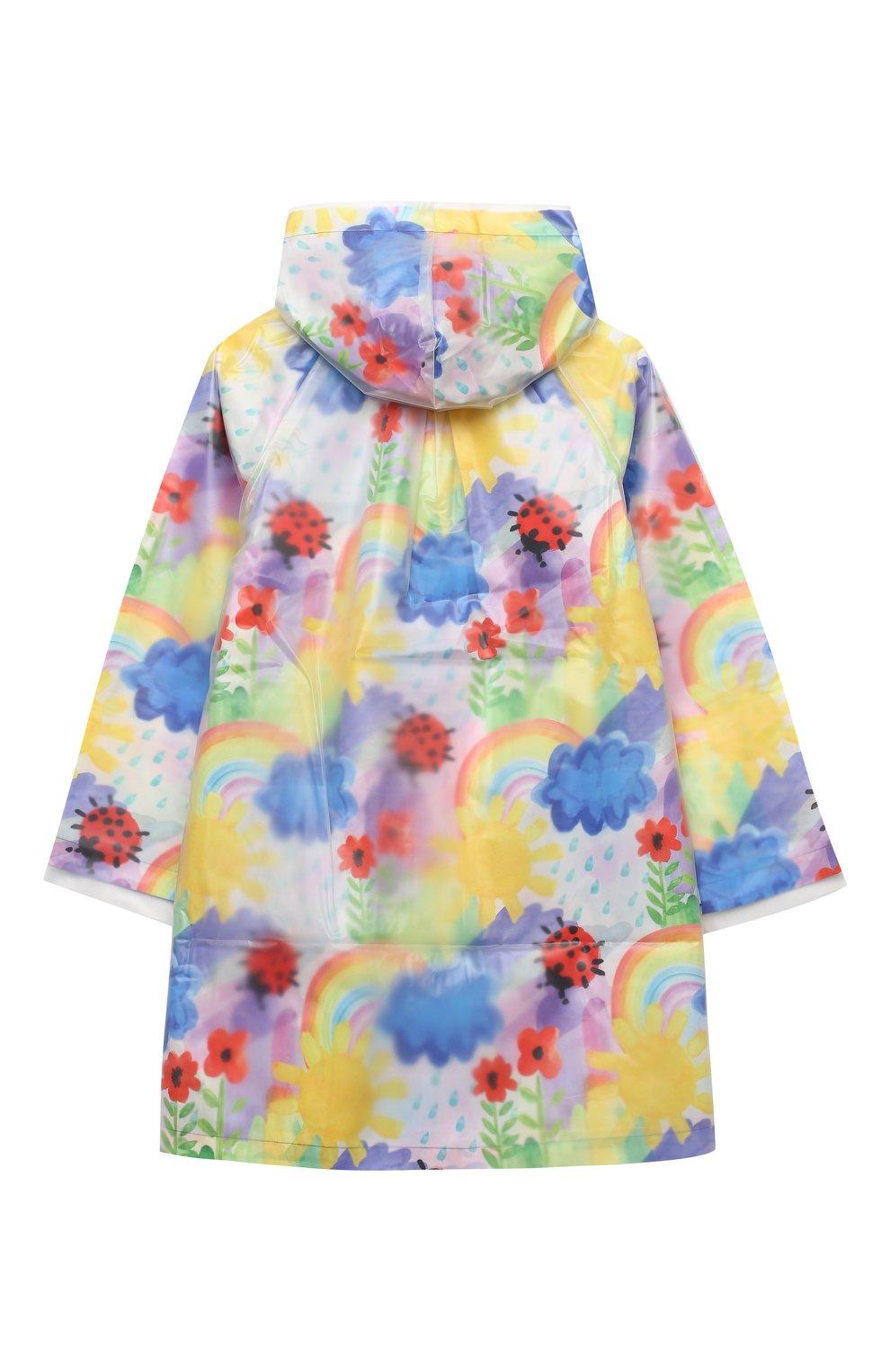 Детский дождевик STELLA MCCARTNEY разноцветного цвета, арт. 601264/SPK92   Фото 2