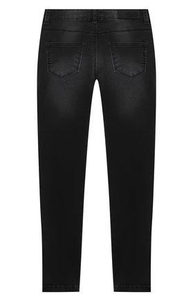 Детские джинсы KARL LAGERFELD KIDS темно-серого цвета, арт. Z14133 | Фото 2