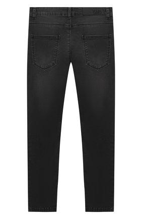 Детские джинсы KARL LAGERFELD KIDS серого цвета, арт. Z24105   Фото 2