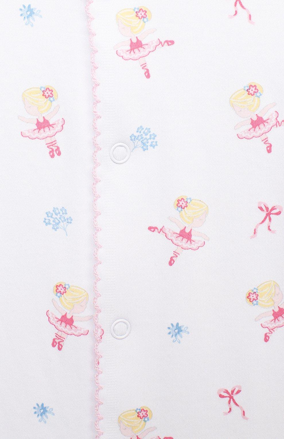 Детский хлопковый комбинезон KISSY KISSY розового цвета, арт. KGQ04824N | Фото 3
