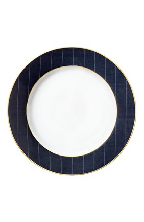 Мужского обеденная тарелка ascot RALPH LAUREN синего цвета, арт. 680590518001 | Фото 1