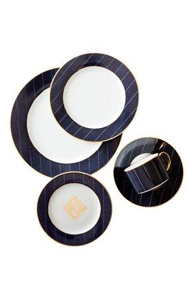 Мужского обеденная тарелка ascot RALPH LAUREN синего цвета, арт. 680590518001 | Фото 2