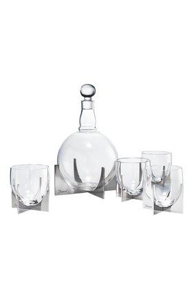 Мужского набор из графина и 4-х стаканов для виски paraison BACCARAT прозрачного цвета, арт. 2 812 379 | Фото 1