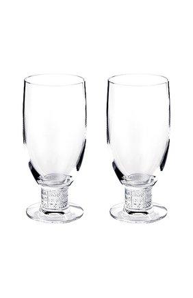 Мужского набор из 2-х бокалов для пива louvre LALIQUE прозрачного цвета, арт. 1734000 | Фото 1