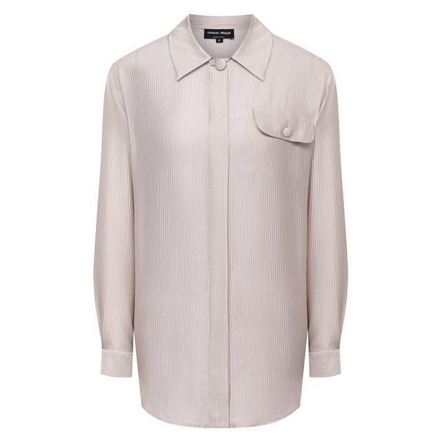 Шелковая рубашка Giorgio Armani