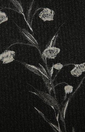 Мужские шарф из шерсти и кашемира valentino garavani VALENTINO черного цвета, арт. UW0ET00F/HPN | Фото 2