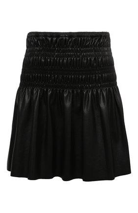 Женская юбка SELF-PORTRAIT черного цвета, арт. AW20-069S | Фото 1