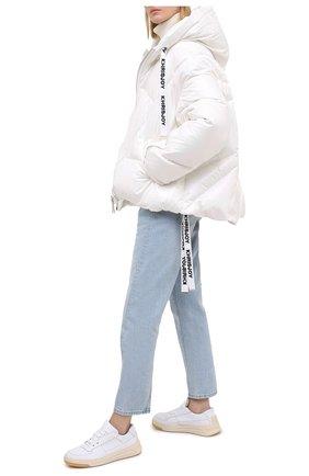 Женский пуховая куртка KHRISJOY белого цвета, арт. AFMW001/PL | Фото 2