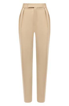 Женские хлопковые брюки KHAITE бежевого цвета, арт. 3060106/MAGDELINE | Фото 1