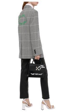 Женский жакет OFF-WHITE черно-белого цвета, арт. 0WEF032E20FAB0021055 | Фото 2