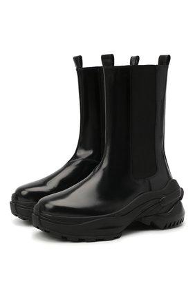 Женские кожаные ботинки MAISON MARGIELA черного цвета, арт. S39WU0200/PS679 | Фото 1