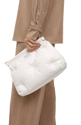 Женская сумка glam slam MAISON MARGIELA белого цвета, арт. S61WG0032/PR818   Фото 2