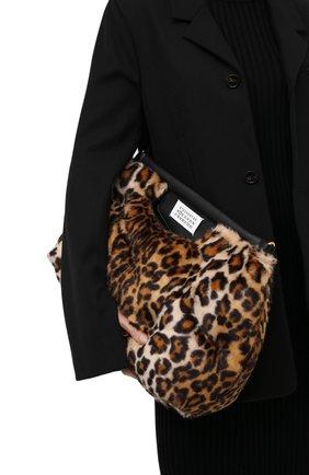 Женский клатч glam slam medium MAISON MARGIELA коричневого цвета, арт. S61WG0034/PS549 | Фото 2
