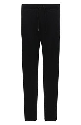 Мужские хлопковые брюки PAUL&SHARK черного цвета, арт. C0P1062/C00/3XL-6XL | Фото 1