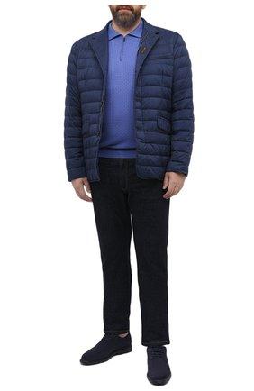 Мужское шерстяное поло SVEVO голубого цвета, арт. 13080XSA20/MP13 | Фото 2