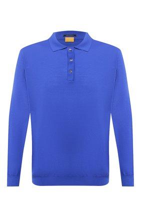 Мужское шерстяное поло SVEVO синего цвета, арт. 1377XSA20/MP13 | Фото 1