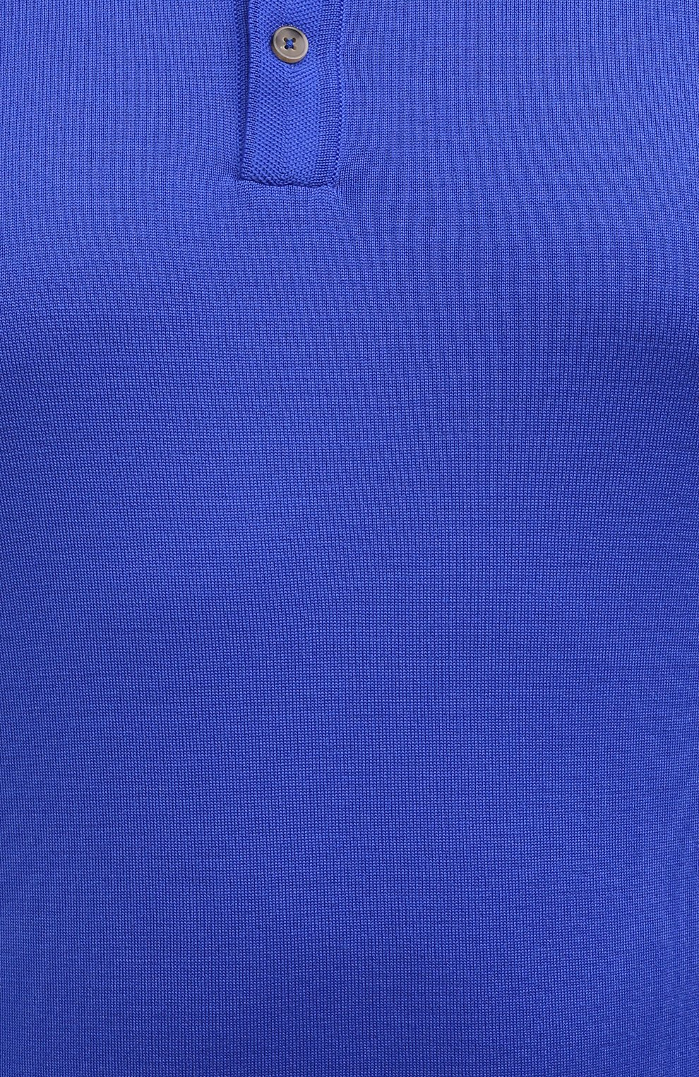 Мужское шерстяное поло SVEVO синего цвета, арт. 1377XSA20/MP13   Фото 5 (Застежка: Пуговицы; Big sizes: Big Sizes; Материал внешний: Шерсть; Рукава: Длинные; Длина (для топов): Удлиненные; Кросс-КТ: Трикотаж; Стили: Кэжуэл)