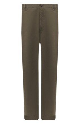 Мужские хлопковые брюки POLO RALPH LAUREN зеленого цвета, арт. 711713346/PRL BS DENIM | Фото 1