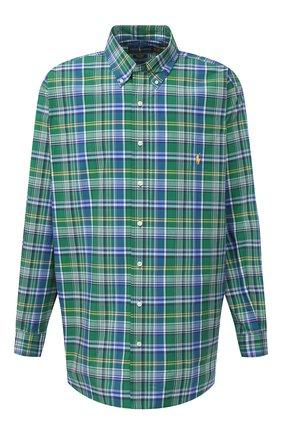 Мужская хлопковая рубашка POLO RALPH LAUREN разноцветного цвета, арт. 711798110/4668/PRL BS | Фото 1