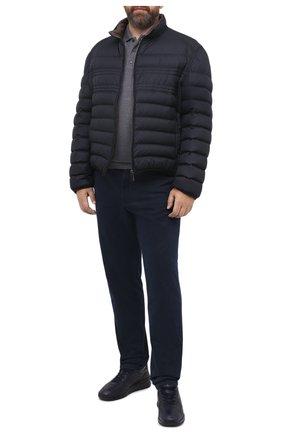 Мужские джинсы HILTL темно-синего цвета, арт. 72478/60-70 | Фото 2