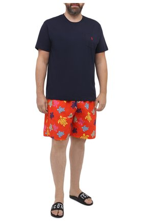 Мужские плавки-шорты VILEBREQUIN красного цвета, арт. MONU0B37/193 | Фото 2