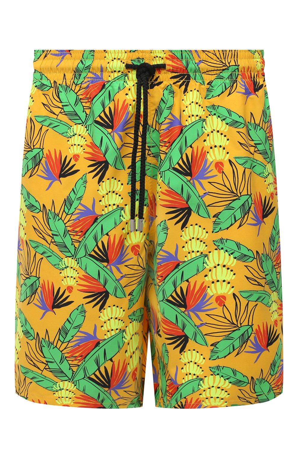 Мужские плавки-шорты VILEBREQUIN желтого цвета, арт. MONU0B14/118   Фото 1