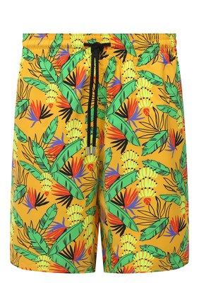 Мужские плавки-шорты VILEBREQUIN желтого цвета, арт. MONU0B14/118 | Фото 1