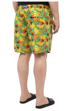 Мужские плавки-шорты VILEBREQUIN желтого цвета, арт. MONU0B14/118   Фото 4