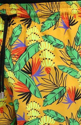 Мужские плавки-шорты VILEBREQUIN желтого цвета, арт. MONU0B14/118   Фото 5