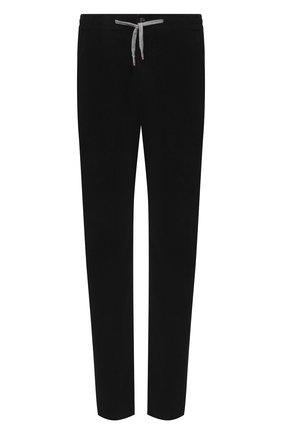 Мужские хлопковые брюки MARCO PESCAROLO черного цвета, арт. CARACCI0L0/4219   Фото 1