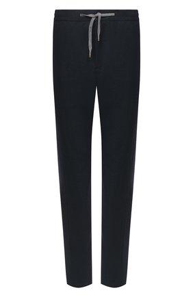 Мужские шерстяные брюки MARCO PESCAROLO темно-зеленого цвета, арт. CARACCI0L0/4266 | Фото 1