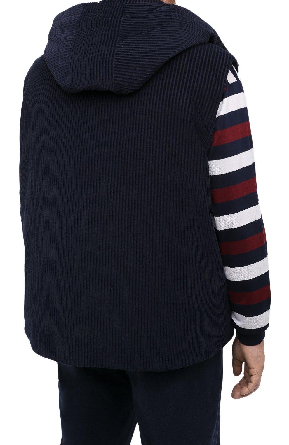 Мужской пуховый жилет KIRED синего цвета, арт. WBEARW7204001000/62-72 | Фото 4