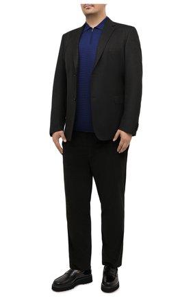 Мужской шерстяной пиджак EDUARD DRESSLER коричневого цвета, арт. 6431/26006 | Фото 2