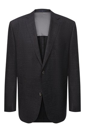 Мужской шерстяной пиджак EDUARD DRESSLER темно-синего цвета, арт. 6461/26011 | Фото 1
