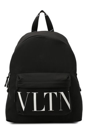 Мужской текстильный рюкзак valentino garavani VALENTINO черного цвета, арт. UY0B0994/YHS | Фото 1