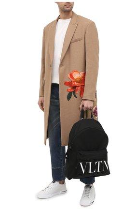 Мужской текстильный рюкзак valentino garavani VALENTINO черного цвета, арт. UY0B0994/YHS | Фото 2