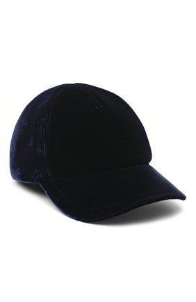 Мужской бейсболка GIORGIO ARMANI темно-синего цвета, арт. 747323/0A517 | Фото 1
