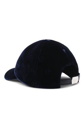 Мужской бейсболка GIORGIO ARMANI темно-синего цвета, арт. 747323/0A517 | Фото 2