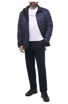 Мужская пуховая куртка BOGNER темно-синего цвета, арт. 38404971 | Фото 2