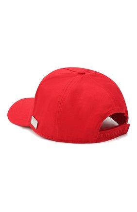 Мужской хлопковая бейсболка PHILIPP PLEIN красного цвета, арт. F20A UAC0049 PTE003N | Фото 2