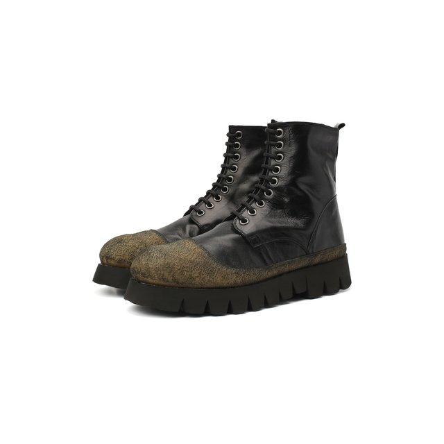 Кожаные ботинки Rocco P..