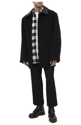 Мужские кожаные ботинки RARE черного цвета, арт. RU3248/SILKNAIL/DIAMANT | Фото 2