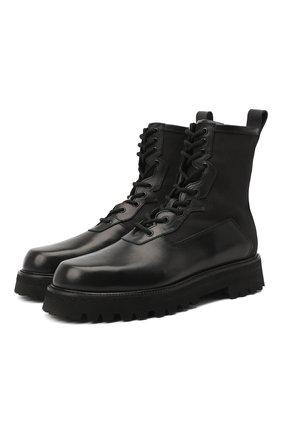Мужские комбинированные ботинки RARE черного цвета, арт. RU3360/TUCS0N/ACTIVE | Фото 1