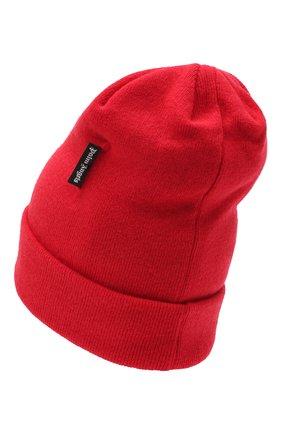 Мужская шерстяная шапка PALM ANGELS красного цвета, арт. PMLC012F20KNI0012501 | Фото 2