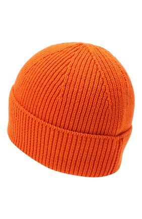 Мужская шерстяная шапка PARAJUMPERS оранжевого цвета, арт. HA12/PLAIN BEANIE | Фото 2