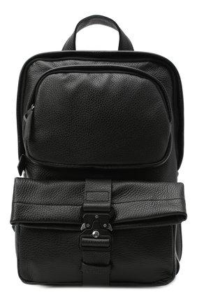 Мужской кожаный рюкзак VIC MATIE черного цвета, арт. 1Y0550T.999C7KB012 | Фото 1