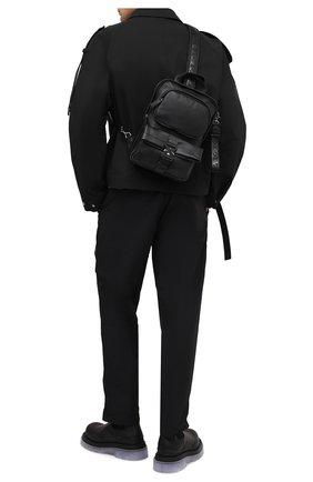 Мужской кожаный рюкзак VIC MATIE черного цвета, арт. 1Y0550T.999C7KB012 | Фото 2